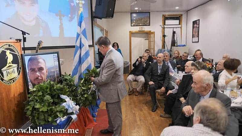 Spartans honor the Greek and World Hero Konstantinos Katsifas – Albanians get upset – Laconian Federation