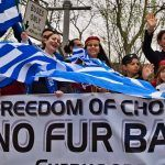 Kastorians sent a message against fur ban and the Skopian issue