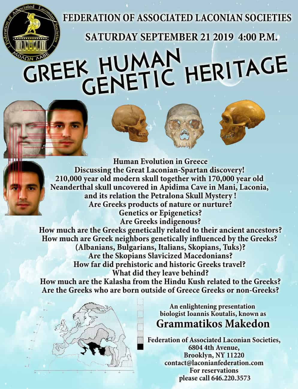 Greek Human Genetic Heritage