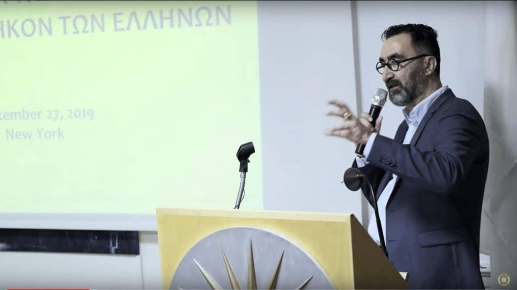 Ιωάννης Αμπατζόγλου στην Παμμακεδονική Αμερική
