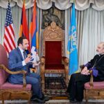 Συνέντευξη Αρμένιου Αρχιεπισκόπου Ανουσαβάν Τανιελιάν στη Νέα Υόρκη από Δ. Φιλιππίδη – Hellas FM