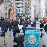Εξύψωση σημαίας στο Bowling Green (Manhattan) από την Ομοσπονδία Ελληνικών Σωματείων Νέας Υόρκης