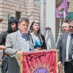 Ποντιακή Γενοκτονία: Ύψωση Ποντιακής και Ελληνικής Σημαίας στη Νέα Υόρκη