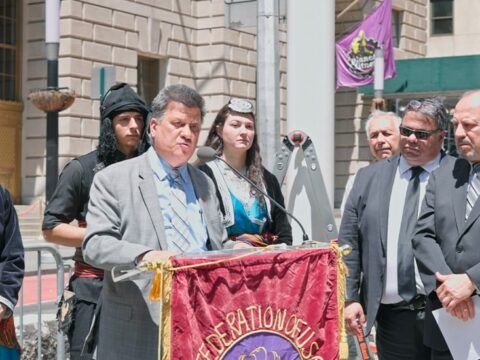 Pontic Greek Genocide event in Bowling Green in Manhattan (English Speeches)
